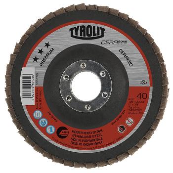 tyrolit premium cerabond flap disc