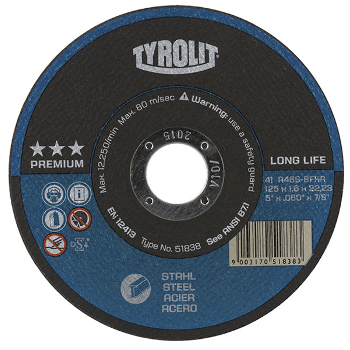 tyrolit premium longlife cut-off disc