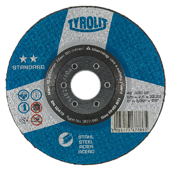 tyrolit standard cut off disc